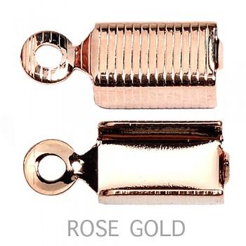 Koncovka  3.5x12mm ROSE GOLD
