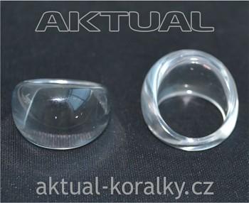Plastový základ pro prsteny Bubble č.17 / 53 mm