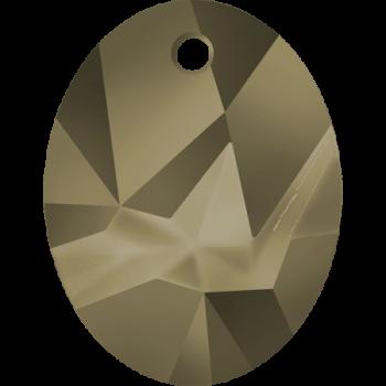 6911 MM 26 CRYSTAL METALLIC LIGHT GOLD
