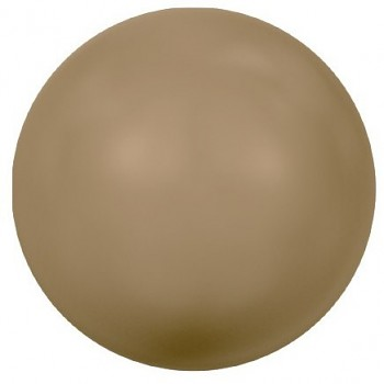 5818 MM  6 CRYSTAL ANTIQUE BRASS PEARL