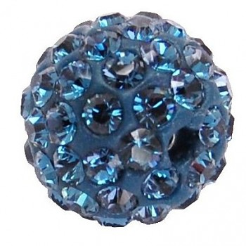 sparkly BEAD  6mm MONTANA