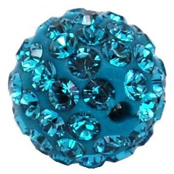 sparkly BEAD  8mm/1 INDICOLITE