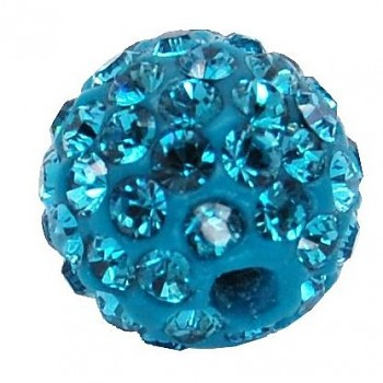 sparkly BEAD  8mm/1.8 INDICOLITE